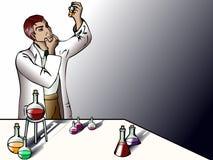 lab naukowiec Obrazy Stock