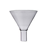 Lab. scientific glassware -funnel on a background Royalty Free Stock Photography