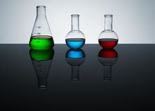 Lab still life Royalty Free Stock Photography