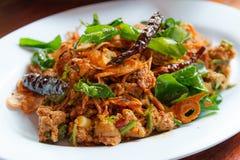 Lab, Tajlandzki jedzenie Fotografia Stock
