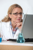 Lab technician Stock Images