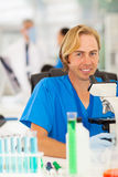 Lab technician laboratory Royalty Free Stock Photos