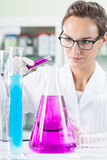 Lab technician during work Royalty Free Stock Photo