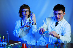 Lab test Stock Images