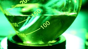 Lab Test Beaker stock video