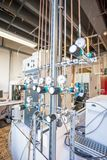 Concentrated laboratory gases Stock Photos