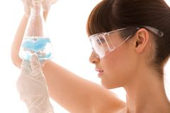 Lab work Stock Photo