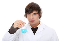 Lab worker Royalty Free Stock Images