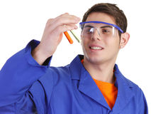 Lab worker Royalty Free Stock Photos