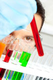 Lab worker Royalty Free Stock Photo