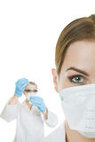 Lab workers Royalty Free Stock Images