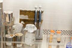 Lab wyposażenia oparu kapiszon Obraz Stock