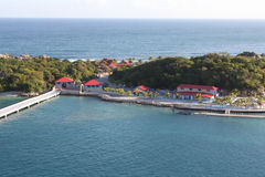 Labadee Haiti. Scenic view of Labadee Haiti Royalty Free Stock Photos