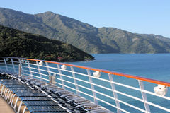Labadee Haiti off a cruise ship Stock Photography