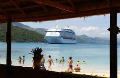 Labadee Hatiti i Caraibi Fotografie Stock