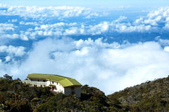 Laban Lata, zet Kinabalu op Stock Afbeelding