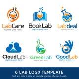 Labbmassmedia Logo Template Design Vector Stock Illustrationer