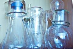 Labbutrustning Arkivbild