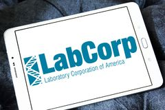 LabCorp医疗保健公司商标 库存照片