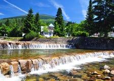 Labe river, Czech Landscape Stock Photography