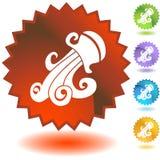 Label - Aquarius Royalty Free Stock Images
