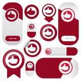 Label or badges Stock Images