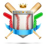 Label for baseball sport club or event. Bright Stock Photo