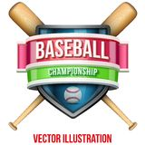 Label for baseball sport competition. Bright Stock Images