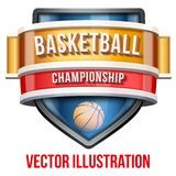 Label for basketball sport competition. Bright Stock Images