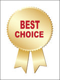 Label - Best Choice. Stock Images