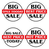 Label Big Sale Royalty Free Stock Photography