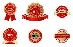 Label. Business labels set- creative design elements vector illustration