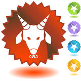 Label - Capricorn Royalty Free Stock Images