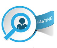 Label casting Stock Photography