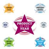 Label d'étoile de best-seller Image stock