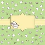 Label de boulangerie Images stock