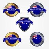 Label de conception de faire en Australie Illustration de vecteur illustration libre de droits