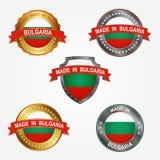 Label de conception de faire en Bulgarie Illustration de vecteur  illustration libre de droits a26d243a212