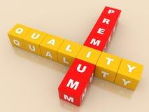 Label de la meilleure qualité de qualité pour le magasin en ligne Photos stock