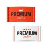 Label de la meilleure qualité d'habillement de qualité Photos libres de droits