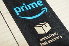 Label de perfection d'Amazone image stock