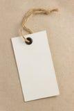 Label de prix à payer à la texture de papier Photographie stock libre de droits