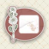 Label de vintage Image libre de droits