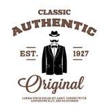 Label de vintage Photo stock