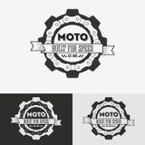 Label de vintage avec la chaîne Photographie stock libre de droits