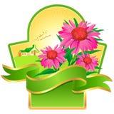 Label design Royalty Free Stock Image