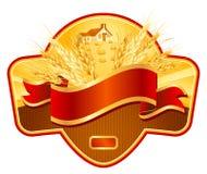 Label design royalty free illustration