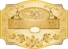 Label design Stock Images