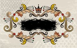 Label design Royalty Free Stock Image