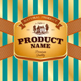 Label design Royalty Free Stock Photos